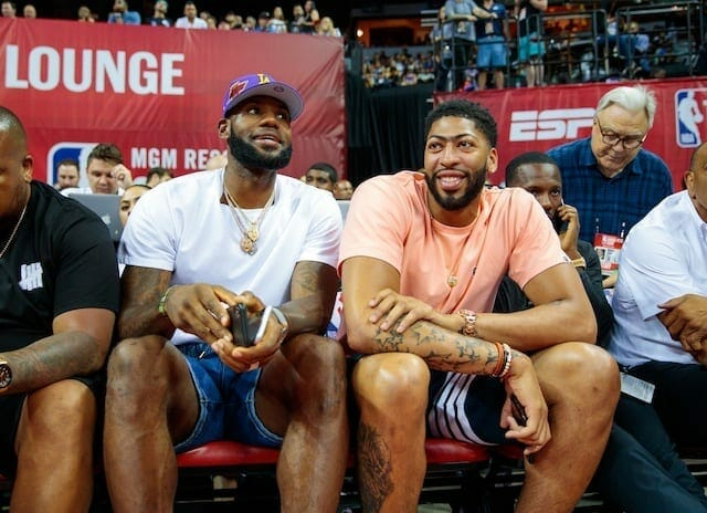 Lakers Officially Acquire Pelicans' Anthony Davis In Three-team Trade