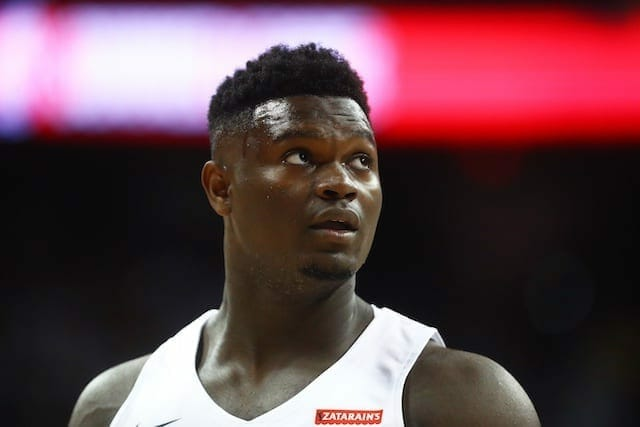 Zion Williamson Wants To Stay With Pelicans For Entire Career Like Kobe Bryant Did With The Lakers
