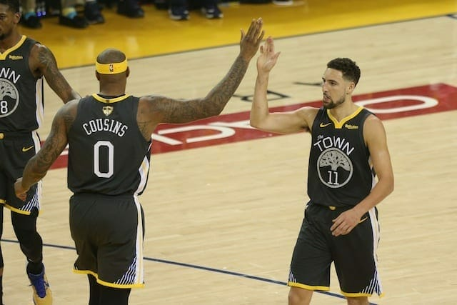Lakers News: Klay Thompson Praises Demarcus Cousins As A Great Teammate And 'gamer'