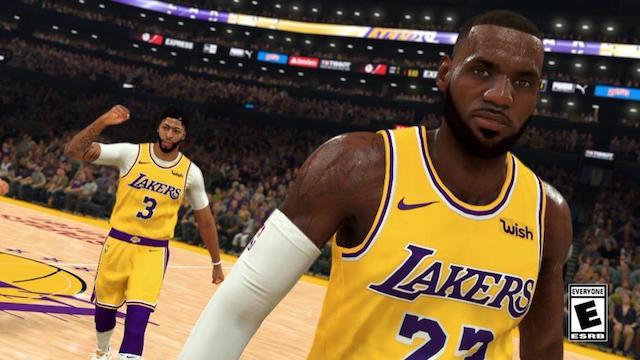 LeBron James, Anthony Davis, NBA 2K20
