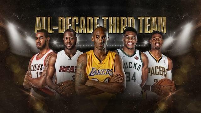 Lakers News: Lebron James, Anthony Davis, And Kobe Bryant Headline Nba.com's All-decade Teams