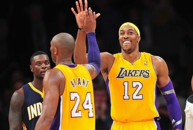 Dwight Howard, Kobe Bryant, Lakers