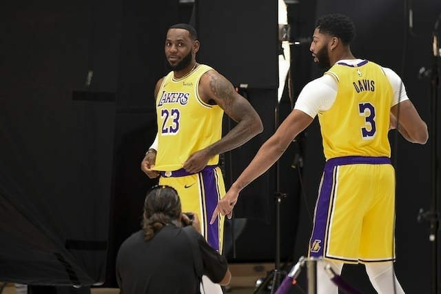 Lebron James Reflects On Anthony Davis Trade Between Lakers, Pelicans