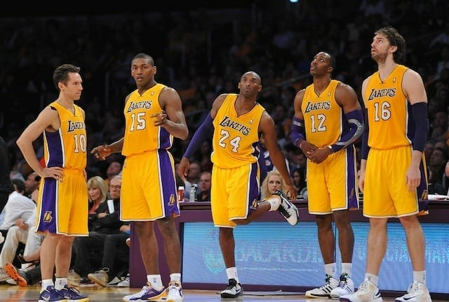 Dwight Howard, Kobe Bryant, Pau Gasol, Lakers, Steve Nash