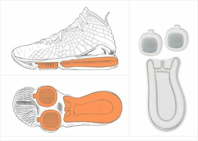 Nike LeBron 17 cushioning