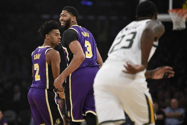 Lakers News: Frank Vogel Says Anthony Davis Was Willing To Play Center