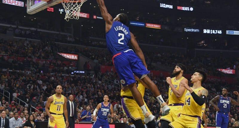 Recap: Kawhi Leonard Leads Clippers Past Anthony Davis, Lebron James & Lakers