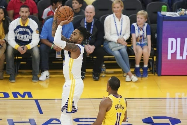 Lakers News: Warriors Guard D'angelo Russell Calls L.a. A 'fantasy Team'