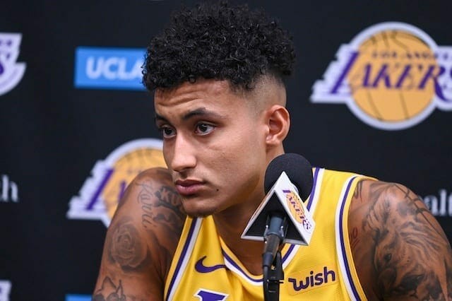Lakers News: Kyle Kuzma Signs Five-year Endorsement Deal With Puma