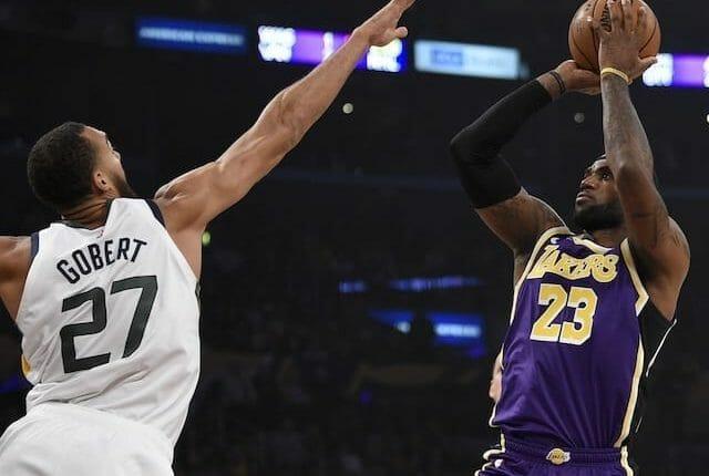 LeBron James, Lakers, Jazz