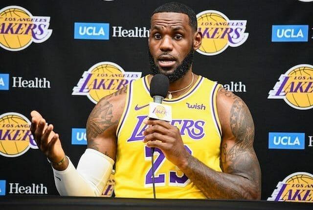 Lakers News: Lebron James Calls Staples Center 'biggest Winner' Of 2019 Nba Offseason