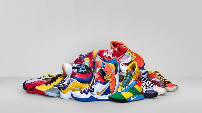 Official images of Nike shoes were designed by various players for Opening Night of the 2019-20 NBA season
