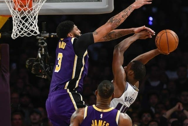 Lakers Highlights: Anthony Davis Seals Win Against Kings With Last-second Block