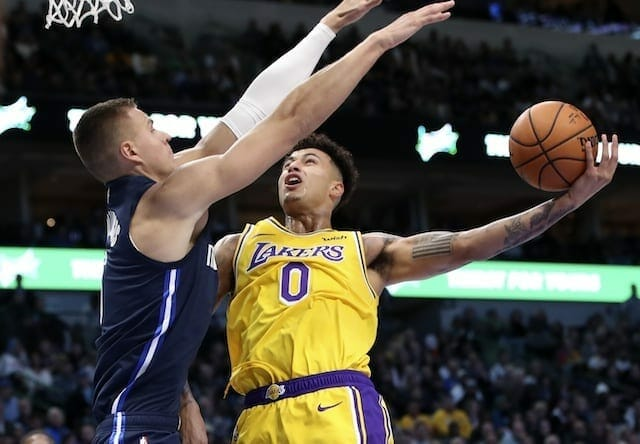 Lakers News: Anthony Davis Inspired By Kyle Kuzma's Work Ethic During Injury Recovery