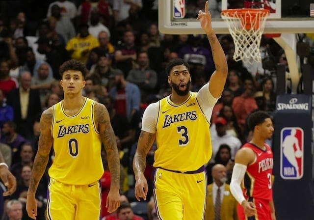 Anthony Davis Believes It Would Be 'super Special' To Win Championship With Lakers