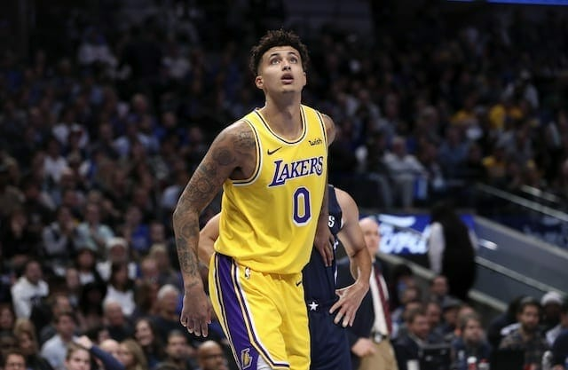 Lakers News: Kyle Kuzma Believes He Can Help Anthony Davis In A 'nikola Mirotic' Role