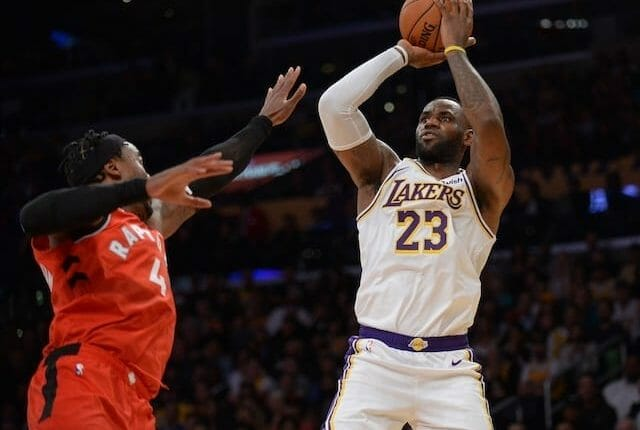Lakers News: Lebron James Dismisses Idea Of Missing Games For 'load Management'