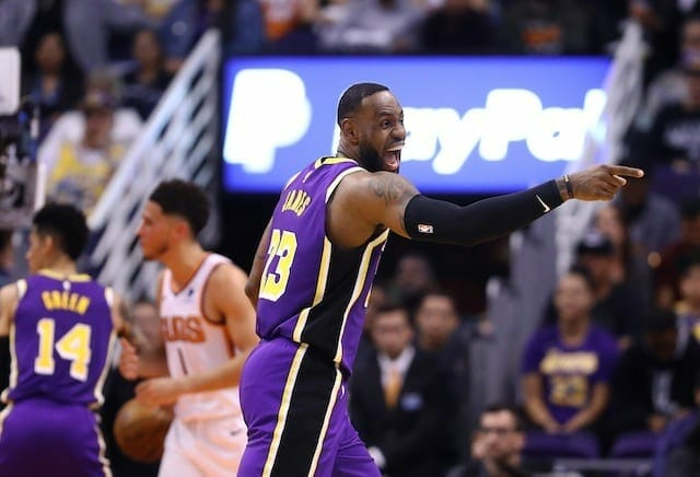 Lakers News: Lebron James Admits Ball Movement Was Key In Win Against Suns