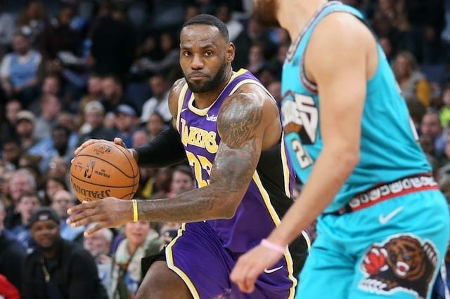 Lakers News: Lebron James Upset Over No Free Throws In Win Over Grizzlies