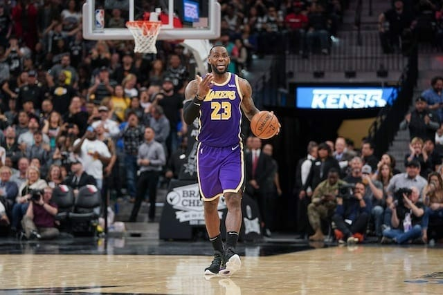 Lakers Highlights: Lebron James' Second Consecutive Triple-double Leads Lakers Past Spurs