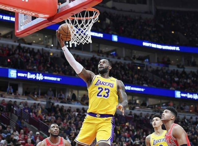 Lebron James Hopeful To Represent Lakers In 2020 Nba All-star Game In Chicago