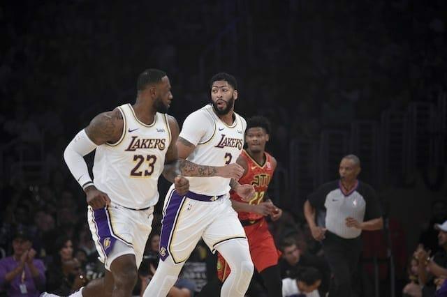 LeBron James, Anthony Davis, Lakers