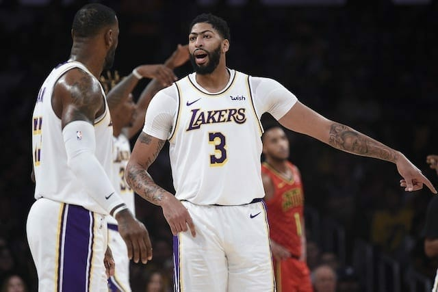 Lakers News: Anthony Davis Says He Is Focused On Wins, Not Shot Attempts