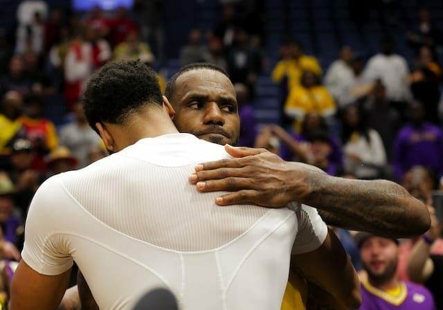 Lakers News: Lebron Glad He Can Help Anthony Davis Secure Win
