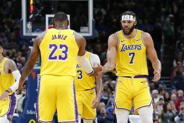 Lakers, JaVale McGee, LeBron James