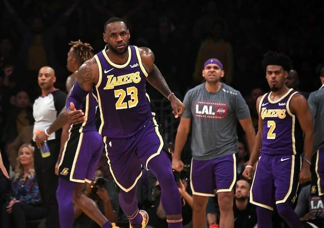 Lakers Highlights: Every Player Scores As L.a. Cruises Over Warriors
