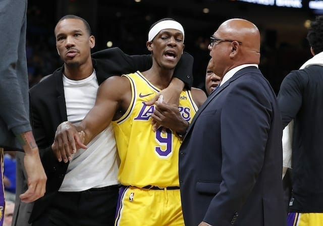 Lakers News: Rajon Rondo Fined $35,000 For Unsportsmanlike Physical Contact With Dennis Schroder