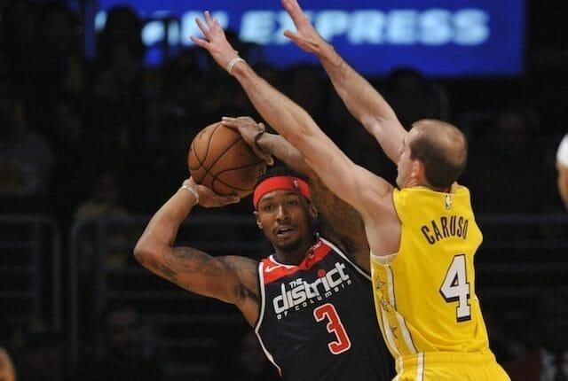 Alex Caruso, Bradley Beal, Los Angeles Lakers