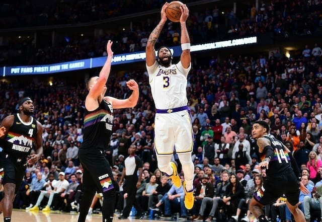 Anthony Davis, Lakers, Nuggets
