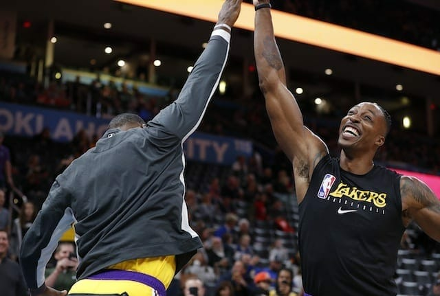 LeBron James, Dwight Howard, Lakers