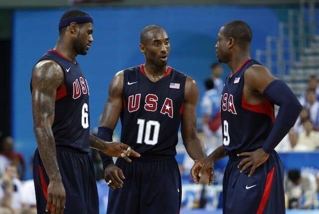 LeBron James, Kobe Bryant, Dwyane Wade, Lakers, Redeem Team