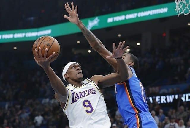Rajon Rondo, Lakers, Thunder