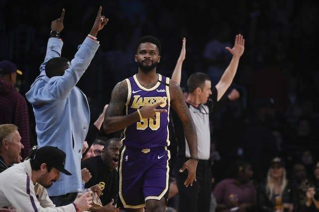 Troy Daniels, Lakers