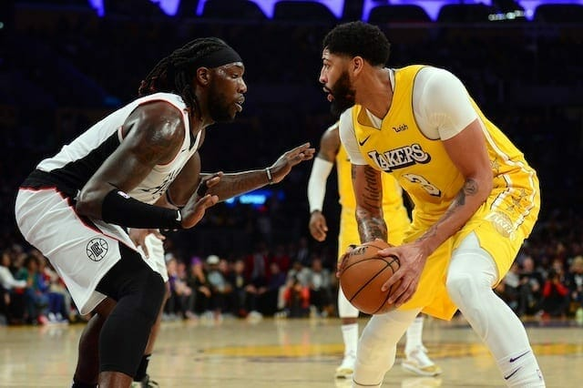 Anthony Davis, Montrezl Harrell, Lakers, Clippers
