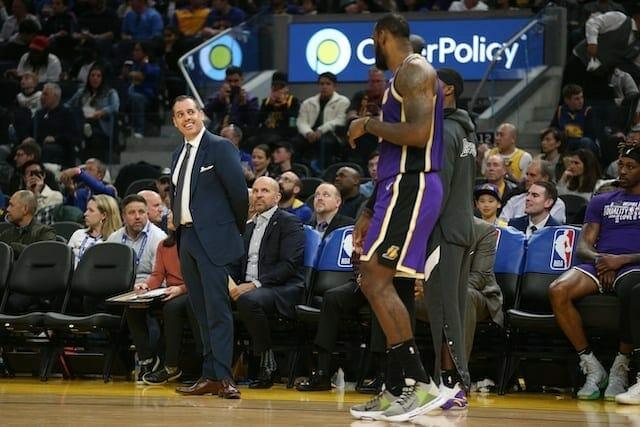 Frank Vogel, Lakers, LeBron James