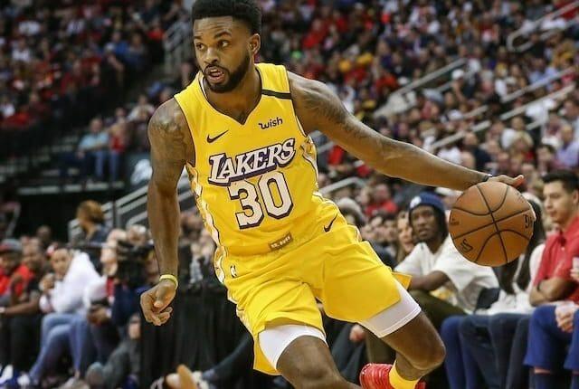 Troy Daniels, Lakers, Nuggets