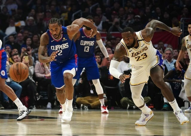 LeBron James, Lakers, Clippers