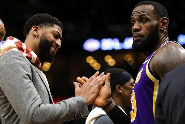 LeBron James, Anthony Davis, Lakers, NBA
