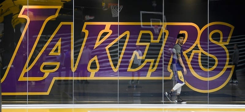 Danny Green, Lakers practice facility