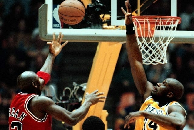 Michael Jordan, Shaquille O'Neal