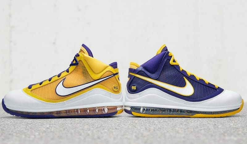 Nike LeBron 7 'Lakers Media Day'