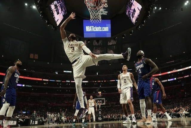 Avery Bradley, Anthony Davis, Paul George, Kyle Kuzma, Lakers, Clippers