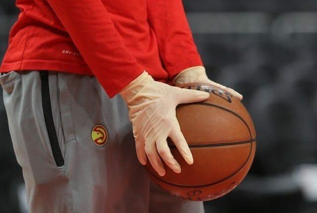 Hawks, basketball, gloves