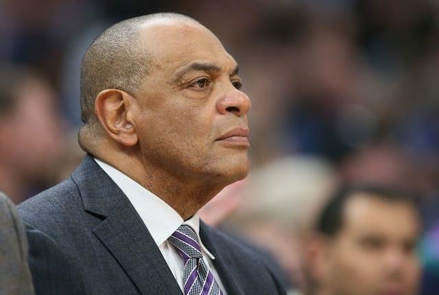 Los Angeles Lakers assistant coach Lionel Hollins