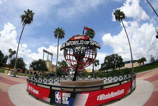 ESPN World Wide of Sports Complex logo, NBA restart
