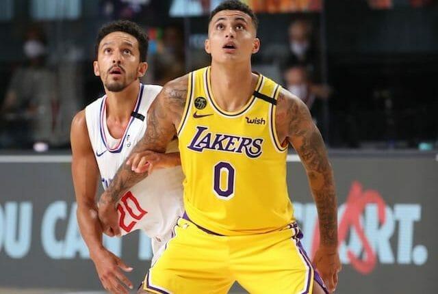 Kyle Kuzma, Lakers, Alex Caruso